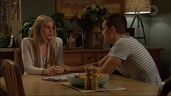 Amber Turner, Josh Willis in Neighbours Episode 7180