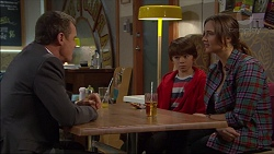Paul Robinson, Jimmy Williams, Amy Williams in Neighbours Episode 7180