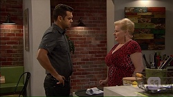 Nate Kinski, Sheila Canning in Neighbours Episode 7181
