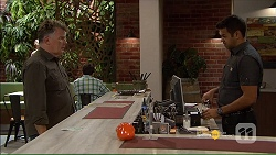 Russell Brennan, Nate Kinski in Neighbours Episode 7181