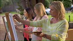 Imogen Willis, Amber Turner, Lauren Turner in Neighbours Episode 7181
