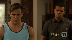 Aaron Brennan, Nate Kinski in Neighbours Episode 7181