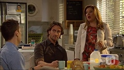 Josh Willis, Brad Willis, Terese Willis in Neighbours Episode 7182