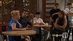 Sheila Canning, Nate Kinski, Courtney Grixti in Neighbours Episode 7182