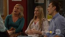 Lauren Turner, Amber Turner, Josh Willis in Neighbours Episode 7182