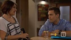 Naomi Canning, Josh Willis in Neighbours Episode 7182