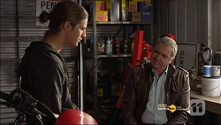 Tyler Brennan, Karl Kennedy in Neighbours Episode 7182