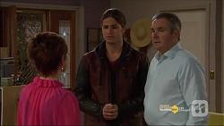Susan Kennedy, Tyler Brennan, Karl Kennedy in Neighbours Episode 7182