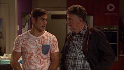 Aaron Brennan, Russell Brennan in Neighbours Episode 7183