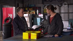 Russell Brennan, Tyler Brennan in Neighbours Episode 7183