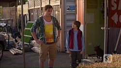 Kyle Canning, Jimmy Williams, Bossy in Neighbours Episode 7184