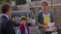 Paul Robinson, Jimmy Williams, Kyle Canning in Neighbours Episode 7184