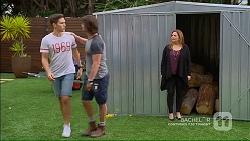Josh Willis, Brad Willis, Terese Willis in Neighbours Episode 7184