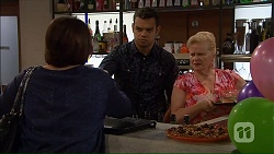 Naomi Canning, Nate Kinski, Sheila Canning in Neighbours Episode 7185