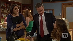 Naomi Canning, Paul Robinson, Amy Williams in Neighbours Episode 7185