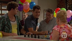 Kyle Canning, Mark Brennan, Russell Brennan, Sheila Canning in Neighbours Episode 7185