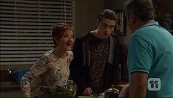 Susan Kennedy, Ben Kirk, Karl Kennedy in Neighbours Episode 7185