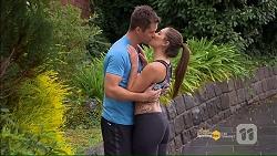 Mark Brennan, Paige Novak in Neighbours Episode 7186