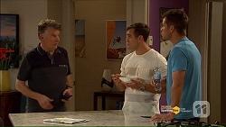 Russell Brennan, Aaron Brennan, Mark Brennan in Neighbours Episode 7186