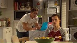 Aaron Brennan, Josh Willis in Neighbours Episode 7186
