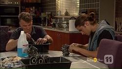 Russell Brennan, Tyler Brennan in Neighbours Episode 7186