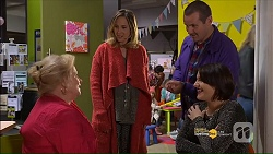 Sheila Canning, Sonya Mitchell, Toadie Rebecchi, Naomi Canning in Neighbours Episode 7186