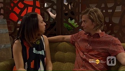Imogen Willis, Daniel Robinson in Neighbours Episode 7187