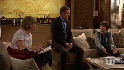 Daniel Robinson, Paul Robinson, Jimmy Williams in Neighbours Episode 7188