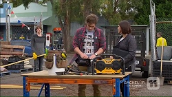 Ashtyn Harris, Kyle Canning, Naomi Canning in Neighbours Episode 7188