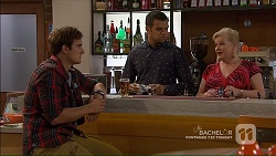 Kyle Canning, Nate Kinski, Sheila Canning in Neighbours Episode 7189