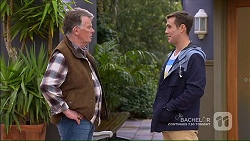 Russell Brennan, Aaron Brennan in Neighbours Episode 7189