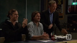 Tyler Brennan, Brad Willis, Paul Robinson in Neighbours Episode 7189