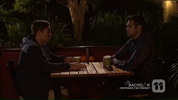 Aaron Brennan, Nate Kinski in Neighbours Episode 7189
