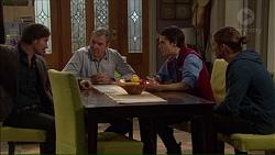 Brad Willis, Karl Kennedy, Ben Kirk, Tyler Brennan in Neighbours Episode 7190