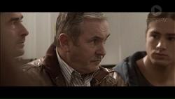 Brad Willis, Karl Kennedy, Tyler Brennan in Neighbours Episode 7190