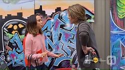 Imogen Willis, Daniel Robinson in Neighbours Episode 7191