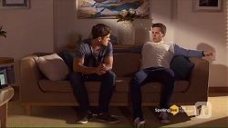 Aaron Brennan, Josh Willis in Neighbours Episode 7191