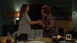 Amy Williams, Angie Rebecchi in Neighbours Episode 7191