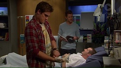 Kyle Canning, Mark Brennan, Toadie Rebecchi in Neighbours Episode 7192