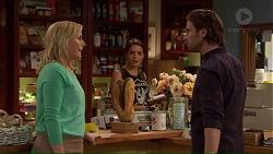 Lauren Turner, Paige Novak, Brad Willis in Neighbours Episode 7192