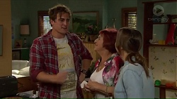 Kyle Canning, Angie Rebecchi, Amy Williams in Neighbours Episode 7192