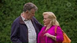 Russell Brennan, Sheila Canning in Neighbours Episode 7193