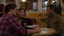Kyle Canning, Naomi Canning, Mark Brennan in Neighbours Episode 7193