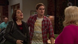 Naomi Canning, Kyle Canning, Sheila Canning in Neighbours Episode 7193