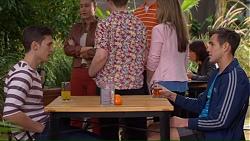 Josh Willis, Aaron Brennan in Neighbours Episode 7193