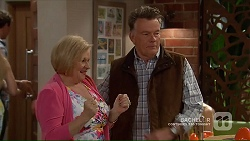 Sheila Canning, Russell Brennan in Neighbours Episode 7194
