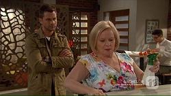 Mark Brennan, Sheila Canning in Neighbours Episode 7194