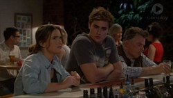 Amy Williams, Kyle Canning, Russell Brennan in Neighbours Episode 7196