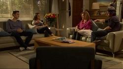 Josh Willis, Imogen Willis, Terese Willis, Brad Willis in Neighbours Episode 7196