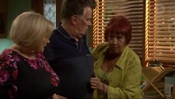 Sheila Canning, Russell Brennan, Angie Rebecchi in Neighbours Episode 7196